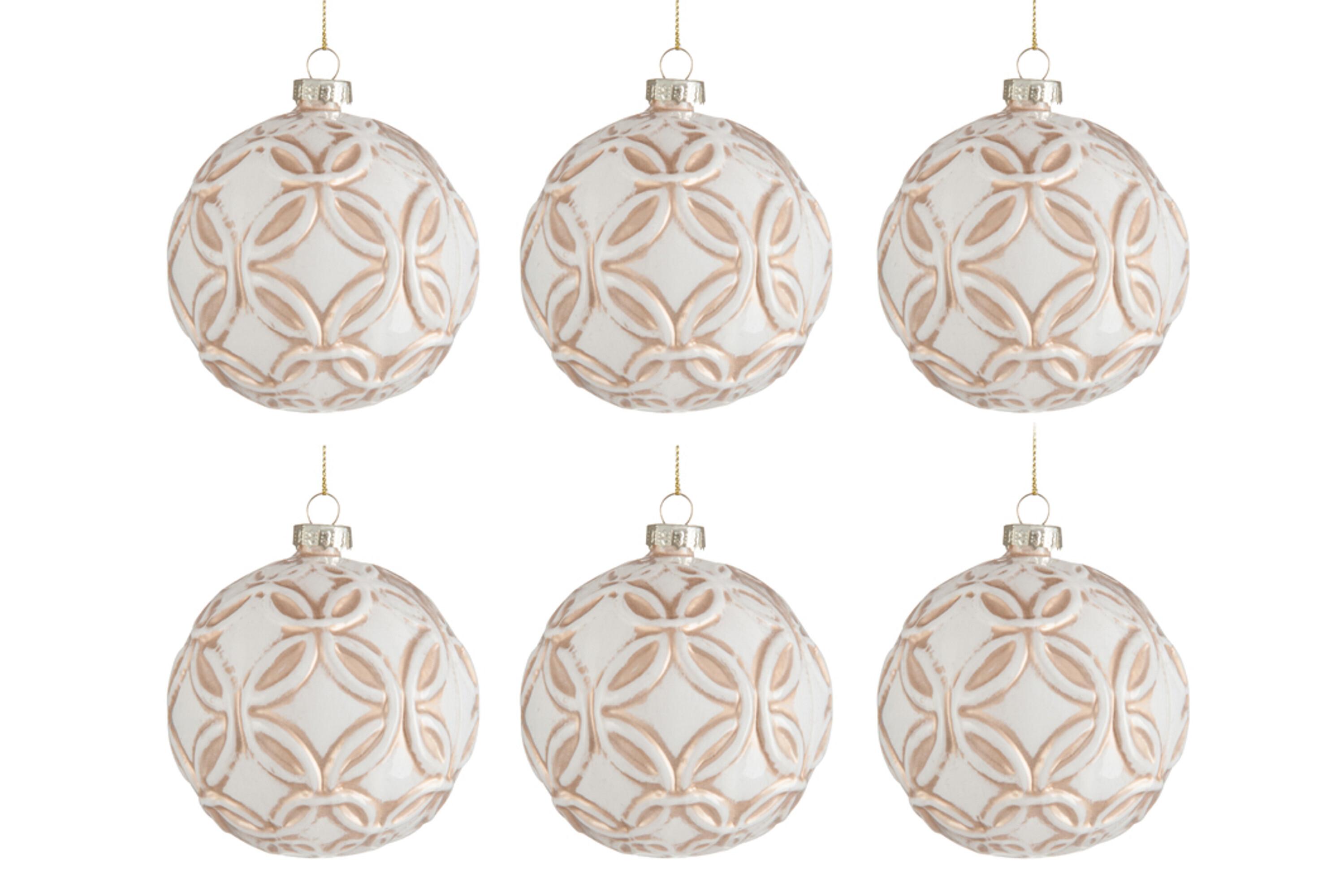 Vánoční ozdoba CIRKELS - 6 kusů