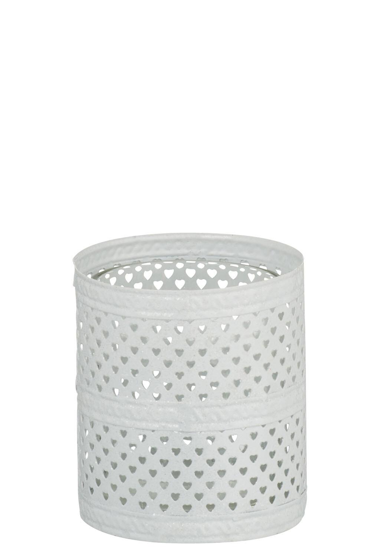 Svícen na čajovou svíčku GLITTER