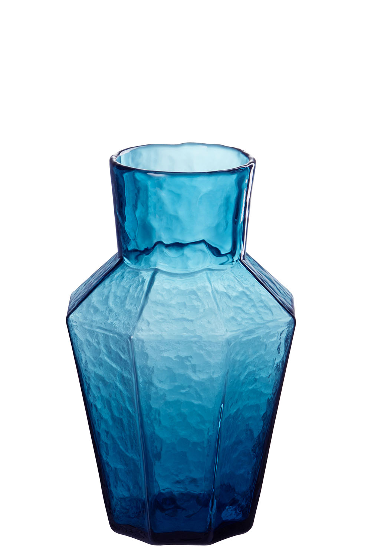 Skleněná váza BLUE