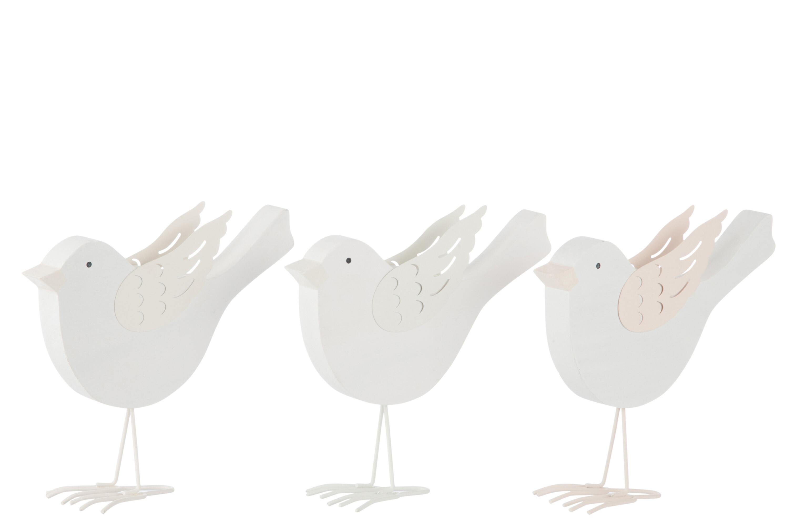 Tři dřevění ptáčci
