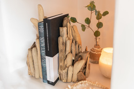 Set Of 2bookend Driftwood Natural