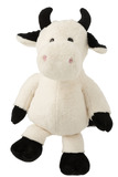Cow Plush Ecru/Black Extra Large