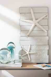 Frame Maison De Plage Wood Light