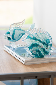 Paperweight Fish Small Glass