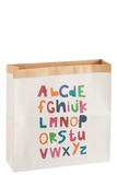 Paperbag Alphabet Paper White/Mix
