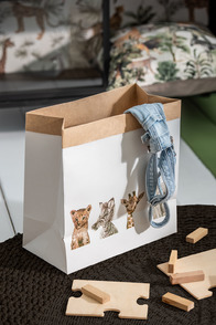 Paperbag Safari Animals Paper