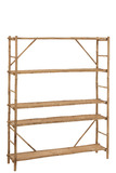 Rack 5 Planks Bamboo Natural