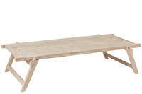 Table Army Bed Recycled Wood White
