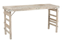 Table High Aged Recycled Wood