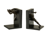 Set Of 2 Bookend Athlete Poly