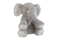 Elephant Plush Grey Large