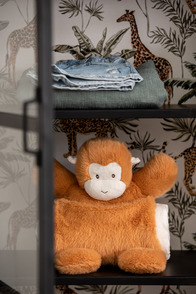Ape+Blanket Plush Brown