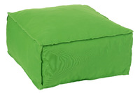 Hassock Square Polyester Green