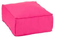 Hassock Square Polyester Pink