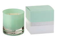Scented Candle Glass Aqua Large