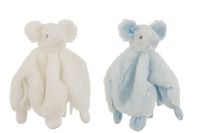 Doudou Mouse Plush White/Light