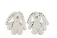 Bunny Plush White Small Assortment
