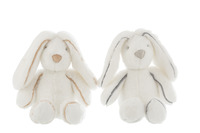Bunny Plush White Medium