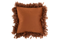 Cushion Feathers Polyester Rust