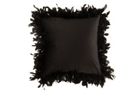 Cushion Feathers Polyester Black