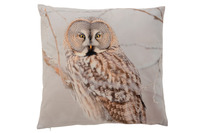 Cushion Owl Branch Polyester