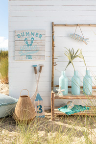 Schild Summer/Beach Holz