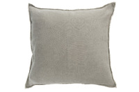 Cushion Stonewashed Linen Green