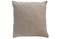 Cushion Stonewashed Linen Light