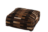 Puff Chalet Leather Brown