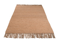Rug Frayed Jute Natural