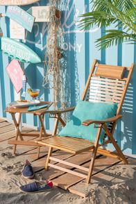 Deckchair Pliable Bamboo Natural