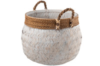 Basket+Handle Ball Bamboo+Rope