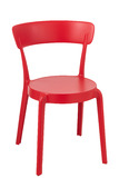 Chair Kurt Polypropylene Red