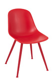 Chair Bea Polypropylene Red