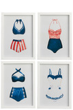Wall Decoration Bathing Suits