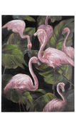 Painting Flamingos Canvas
