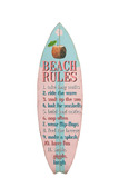 Placard Surfboard Wood Pink/Blue