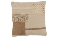 Cushion Fringes Square Cotton